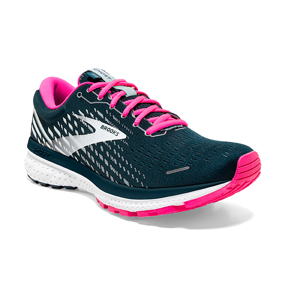 Brooks Ghost 13 Reflective Pond/Pink W