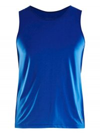 Craft Essential Singlet Dark Blue