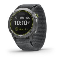 Garmin Enduro, Steel/Gray UltraFit Nylon Strap