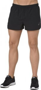 Asics Silver Split Short Black