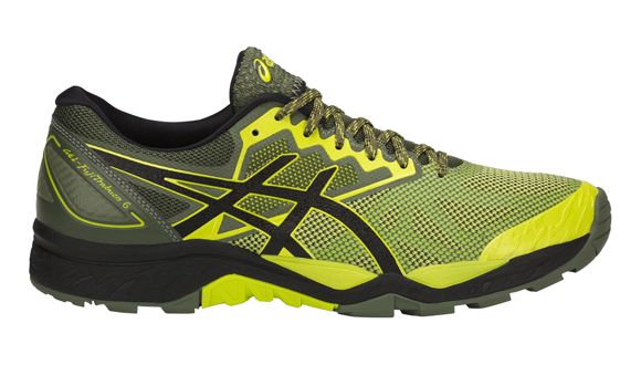 Asics FujiTrabuco 6 Black/Yellow