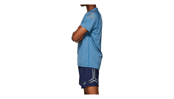 Asics Icon SS Top Blue - Velikost textil: XL