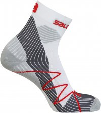 Salomon Fast Wings Socks White/Grey