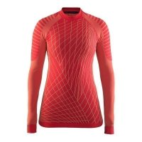 Craft Active Intensity L/S Tee Red W