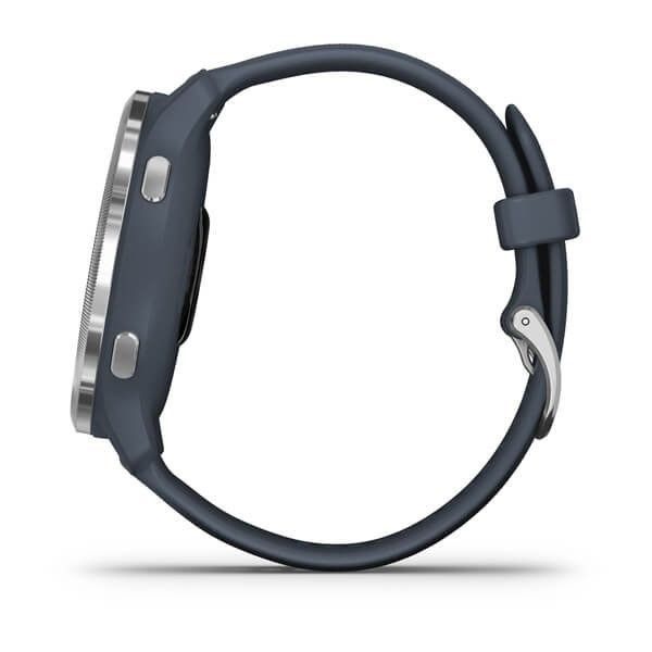 Garmin Venu2 Silver/Granite Blue Band