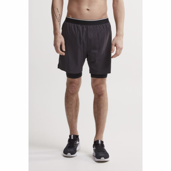 Craft Charge 2 v 1 Short Dark Grey