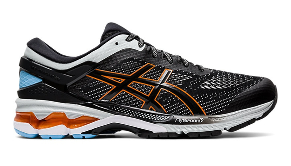 Asics Gel-Kayano 26 Black/White