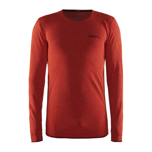 Craft Active Comfort L/S Tee Red