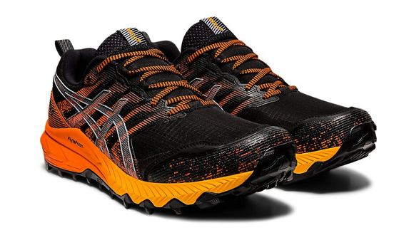 Asics Gel-Fujitrabuco 9 GTX Black/Orange - Velikost Asics (m): 42,5 EURO/8 UK/9 US/27 cm