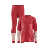 Craft Baselayer Junior Red/Pink