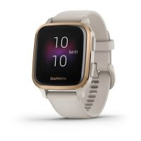Garmin Venu Sq Music RoseGold/Sand Band