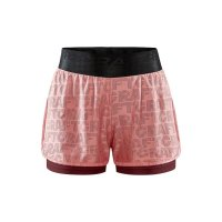 CRAFT Core Charge Logo Shorts Red/Pink W