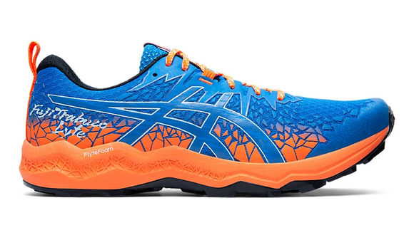 Asics Fujitrabuco Lyte Blue/Orange - Velikost Asics (m): 44,5 EURO/9,5 UK/10,5 US/28,25 cm