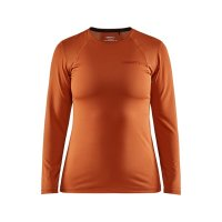 CRAFT ADV Essence LS Tee Dark Orange W