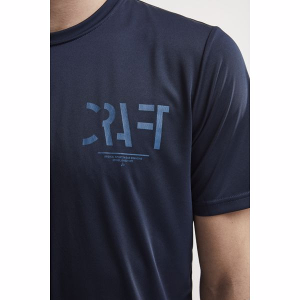 Craft Eaze Graphic SS Tee Navy