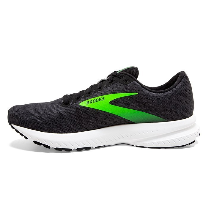 Brooks Launch 7 Black - Velikost Brooks (m): 45,5 EURO/10,5 UK/11,5 US/29,5 cm
