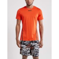Craft Vent Mesh SS Tee Orange