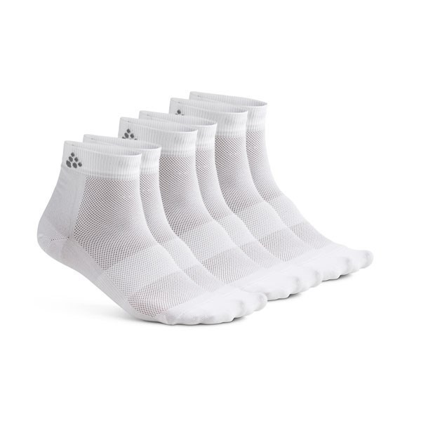 Craft Mid 3-pack Sock White