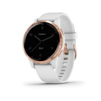 Garmin vívoactive4S Rose Gold, White Band