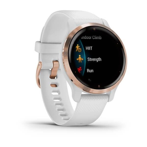 Garmin Venu2S Rose Gold/White Band