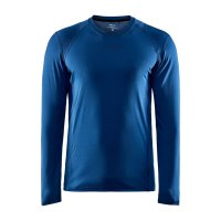 CRAFT ADV Essence LS Tee Dark Blue