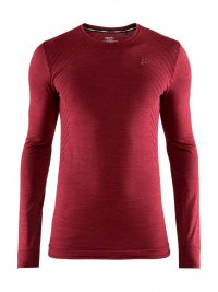 Craft Fuseknit Comfort LS Bordeaux