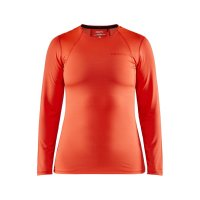 CRAFT ADV Essence LS Tee Orange W