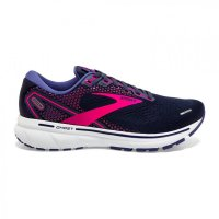 Brooks Ghost 14 Peacoat/Pink W