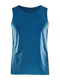 Craft Essential Singlet Blue
