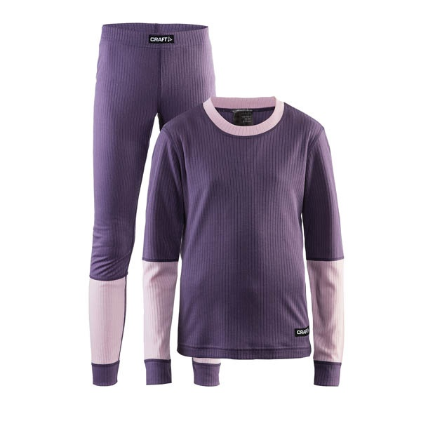 Craft Baselayer Junior Violet