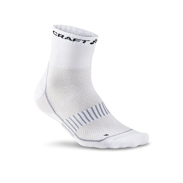 Craft Cool Training 2-pack Socks White/Grey