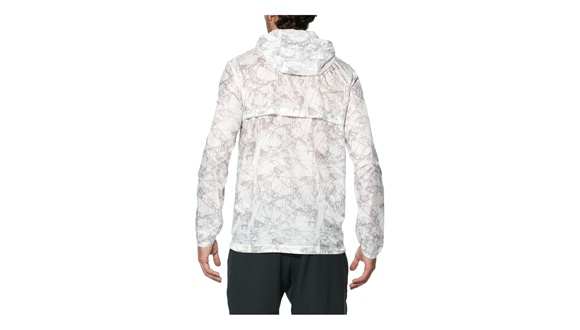 Asics fuzeX Packable Jacket White